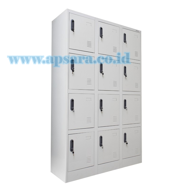 Locker 12 Doors  (Locker Besi 12 Pintu)